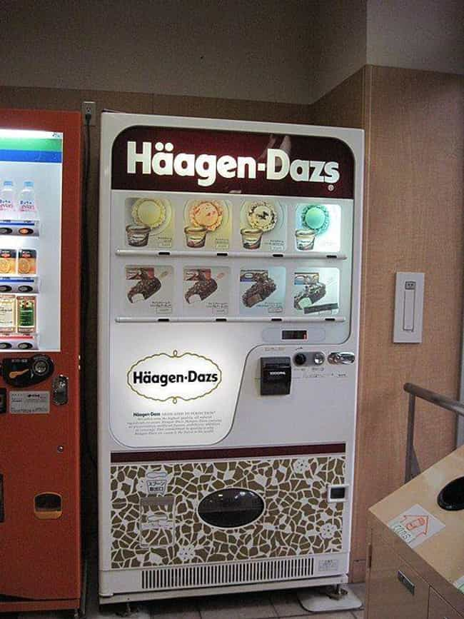 Ice Cream Vending Machin... is listed (or ranked) 1 on the list Insane Vending Machines You Didn't Know You Needed