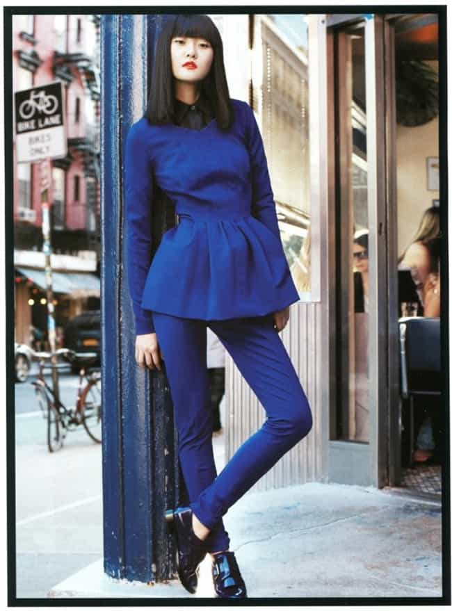 Hyoni Kang in a Peplum Collare... is listed (or ranked) 2 on the list Hottest Hyoni Kang Photos
