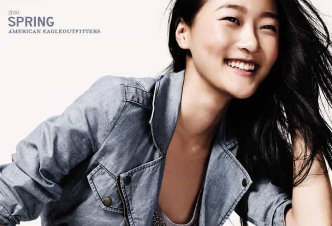 Hyoni Kang in a Denim Jacket is listed (or ranked) 4 on the list Hottest Hyoni Kang Photos