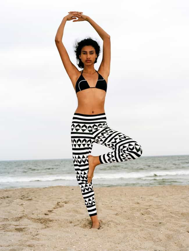 Imaan Hammam in a Noho Bikini ... is listed (or ranked) 8 on the list Hottest Imaan Hammam Photos