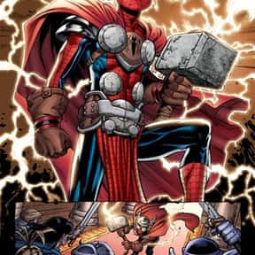 Spider-Man (Spider-Thor) is listed (or ranked) 8 on the list Characters Who Are Most Worthy Of Lifting Mjolnir