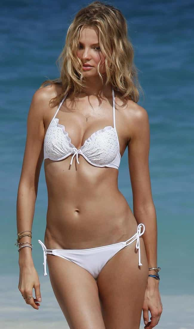 Magdalena Frackowiak in White ... is listed (or ranked) 1 on the list Hottest Magdalena Frackowiak Photos
