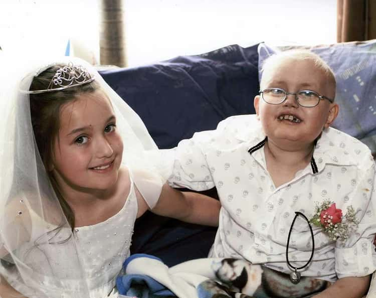 Reece Wished to 'Marry' His Sweetheart