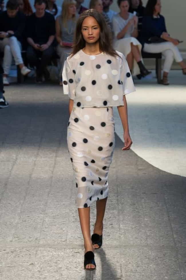Malaika Firth in a White Polka... is listed (or ranked) 4 on the list Hottest Malaika Firth Photos