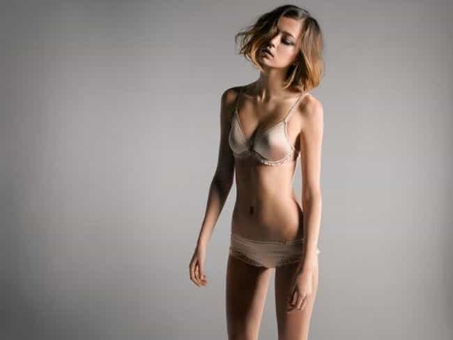 Morgane Dubled in a Beige Unde... is listed (or ranked) 3 on the list Hottest Morgane Dubled Photos