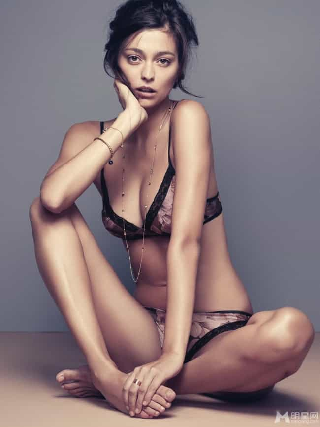 Morgane Dubled in Floral is listed (or ranked) 1 on the list Hottest Morgane Dubled Photos