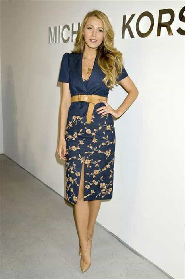 Blake Lively is listed (or ranked) 4 on the list The Best Dressed Celebrities of 2014