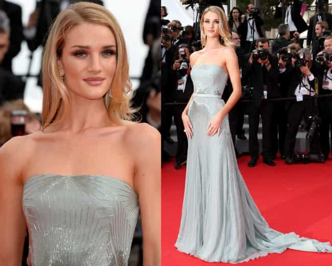 Rosie Huntington-Whiteley is listed (or ranked) 1 on the list The Best Dressed Celebrities of 2014
