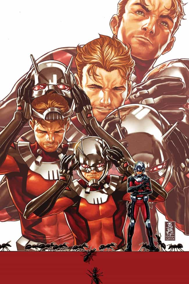 Ant-Man #1 is listed (or ranked) 1 on the list The Coolest Comic Book Covers of 2015