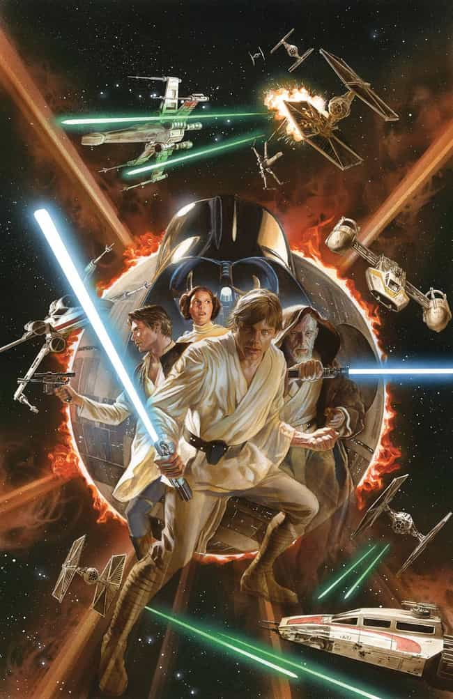 Star Wars #1 is listed (or ranked) 3 on the list The Coolest Comic Book Covers of 2015