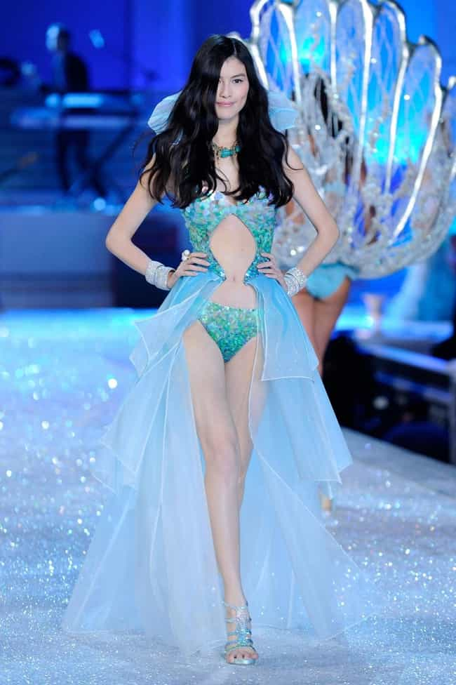 Sui He in Aqua Colored Lingere is listed (or ranked) 2 on the list Hottest Sui He Photos
