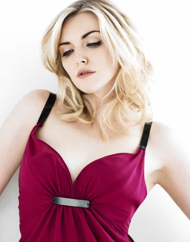 Sophie Dahl in a Violet Dress is listed (or ranked) 4 on the list Hottest Sophie Dahl Photos