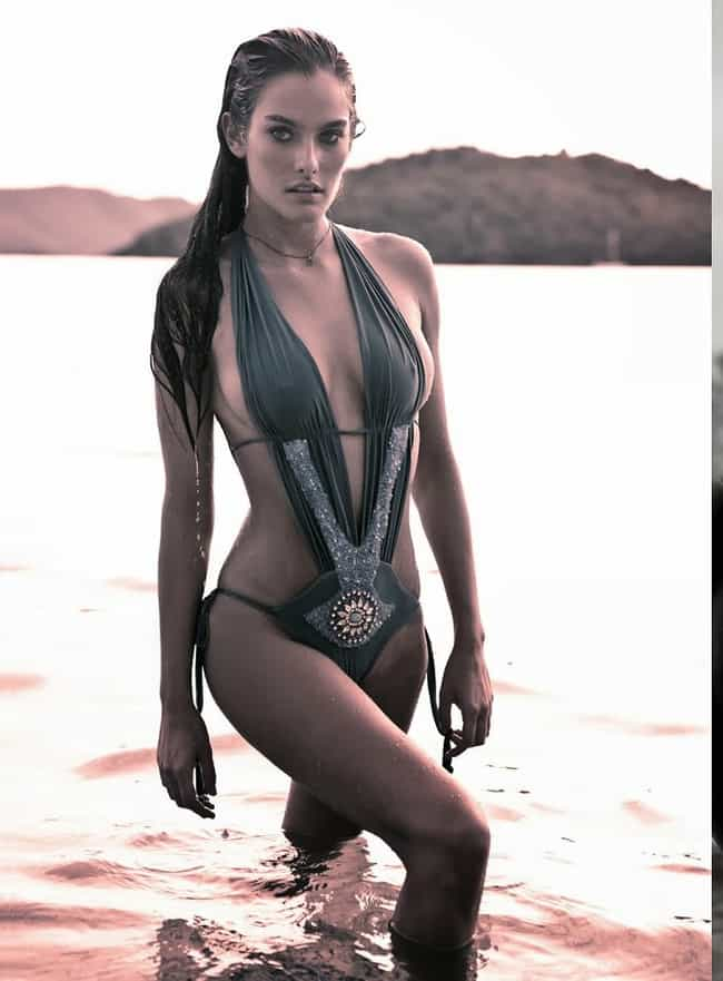 Melissa Baker in a Halter Stra... is listed (or ranked) 1 on the list Hottest Melissa Baker Photos