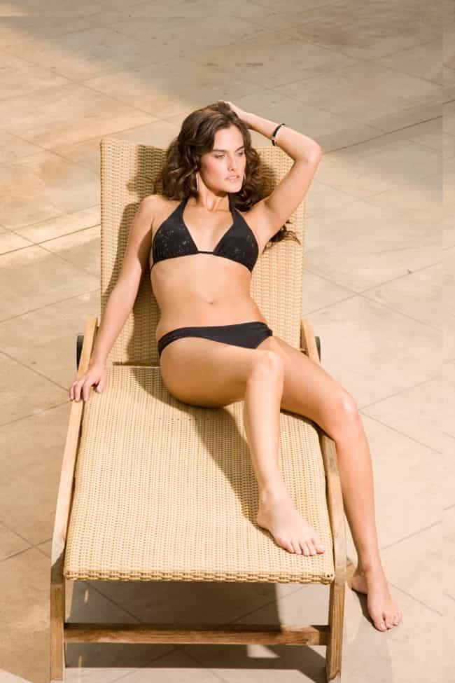 Melissa Baker in a Halter Biki... is listed (or ranked) 3 on the list Hottest Melissa Baker Photos