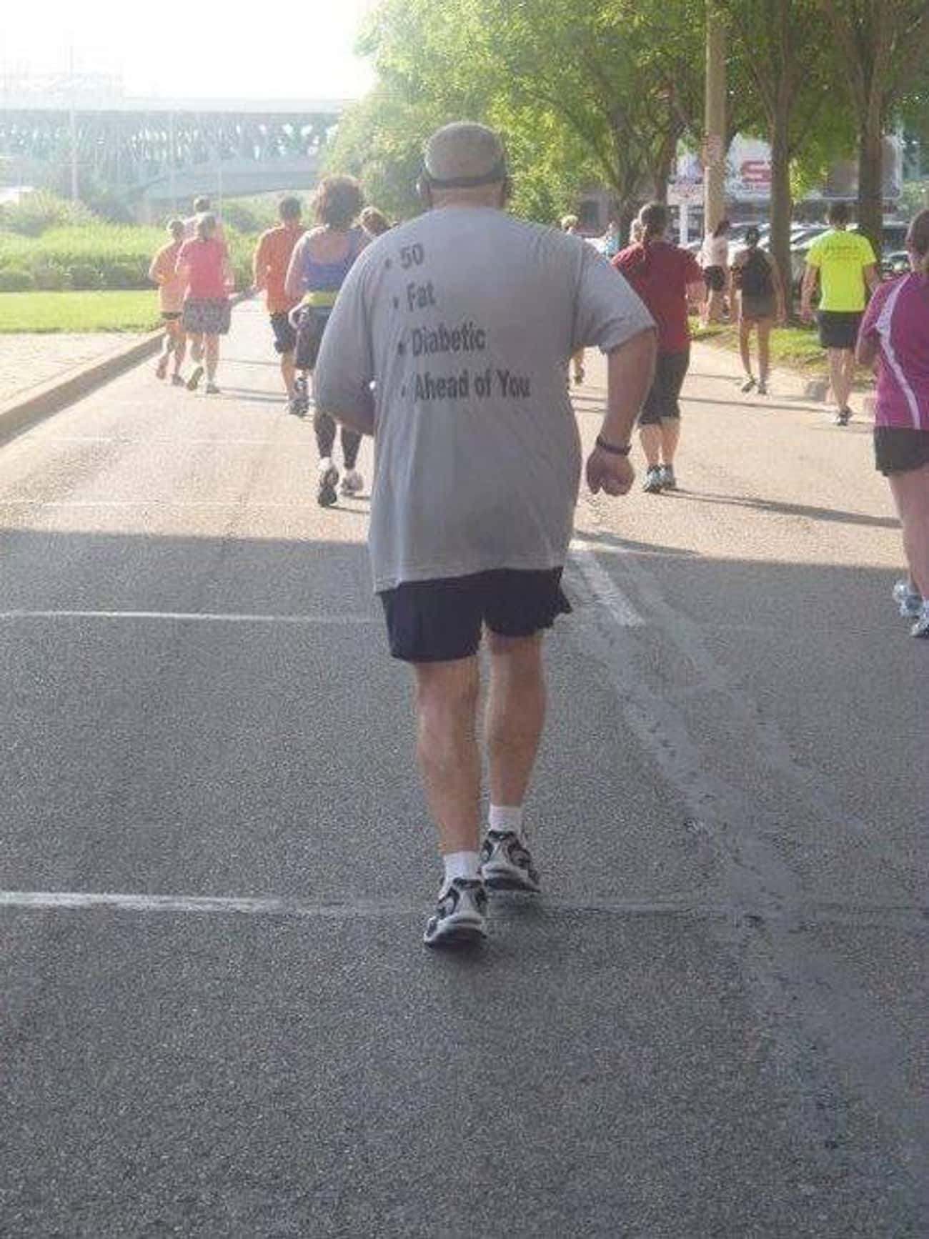 This Guy Who Makes His Argumen is listed (or ranked) 1 on the list 15 Amazing Old People Wearing Funny T-Shirts