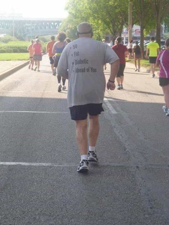 This Guy Who Makes His Argumen... is listed (or ranked) 1 on the list 39 Amazing Old People Wearing Funny T-Shirts