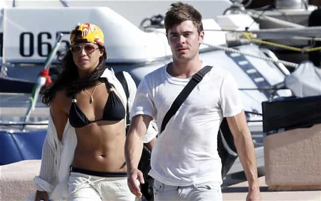 Zac Efron and Michelle Rodrigu... is listed (or ranked) 3 on the list The Oddest Celebrity Duos of 2014