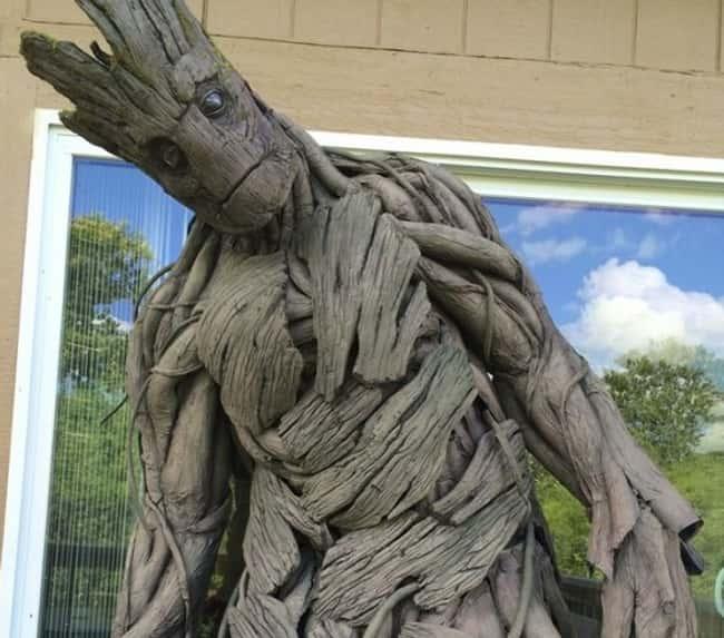 Groot's Halloween Costume