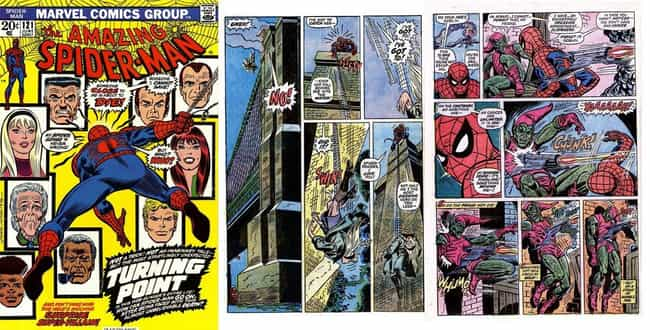 The Night Gwen Stacy Died is listed (or ranked) 4 on the list The Greatest Spider-Man Storylines in Comics