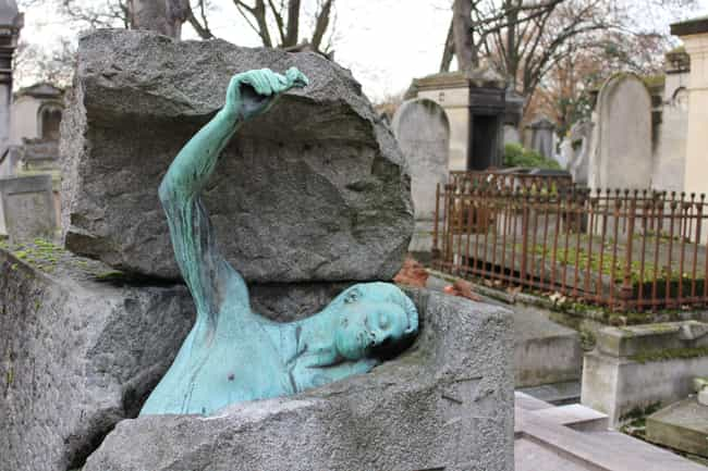 A Representation Of Eternal Li... is listed (or ranked) 3 on the list Weirdly Fascinating And Bizarre Gravestones From Around The World