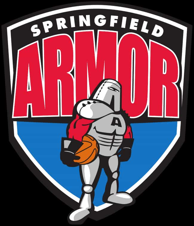 Springfield Armor is listed (or ranked) 4 on the list All the Embarrassing NBA D-League Team Names