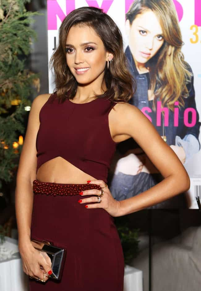 Jessica Alba is listed (or ranked) 3 on the list The Best Dressed Celebrities of 2014
