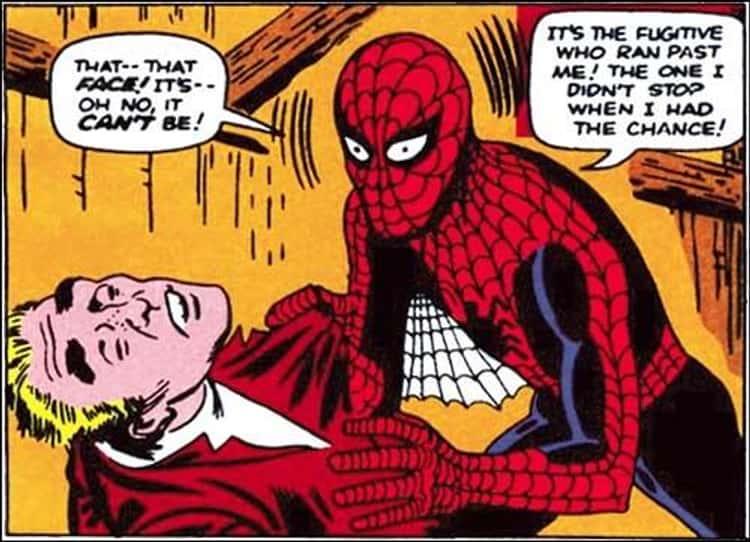 Spider-Man Then