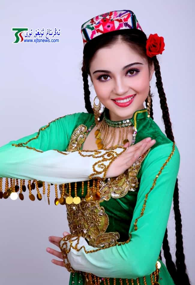 Mahire Emet is listed (or ranked) 3 on the list The Top 10 Most Beautiful Uyghur Women
