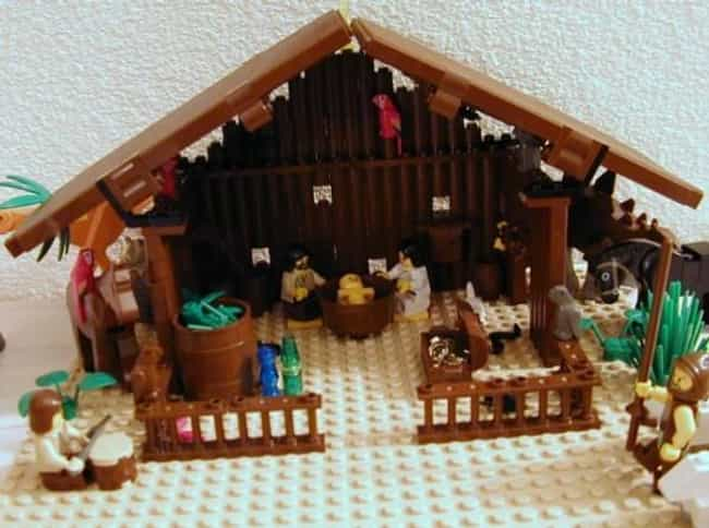 Passion of the Lego Chri... is listed (or ranked) 2 on the list 55 Nativity Scenes That Are Way Funnier Than Normal Ones