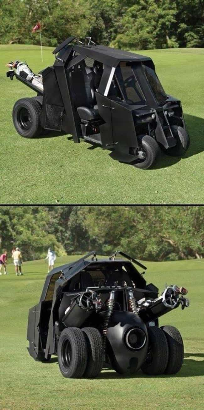The Bat Golf Cart is listed (or ranked) 4 on the list The Most Expensive Christmas Gifts Money Can Buy