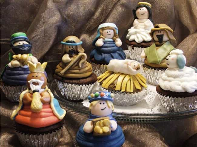 The Most Delicious Looking Man... is listed (or ranked) 4 on the list 55 Nativity Scenes That Are Way Funnier Than Normal Ones
