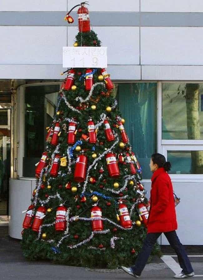 35 Creative Christmas Tree Ideas for the Non-Conformist | WWKX-FM