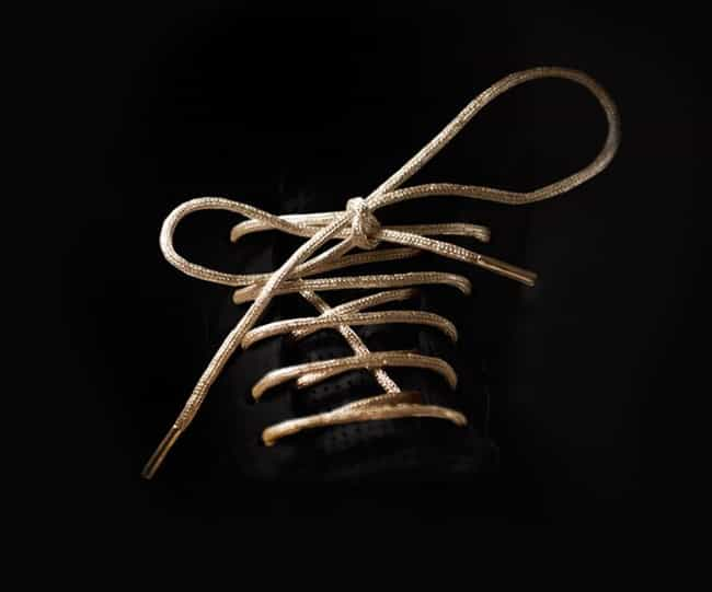 24K Gold Shoelaces is listed (or ranked) 2 on the list 24 Everyday Things You Can Buy Made Of Real Gold