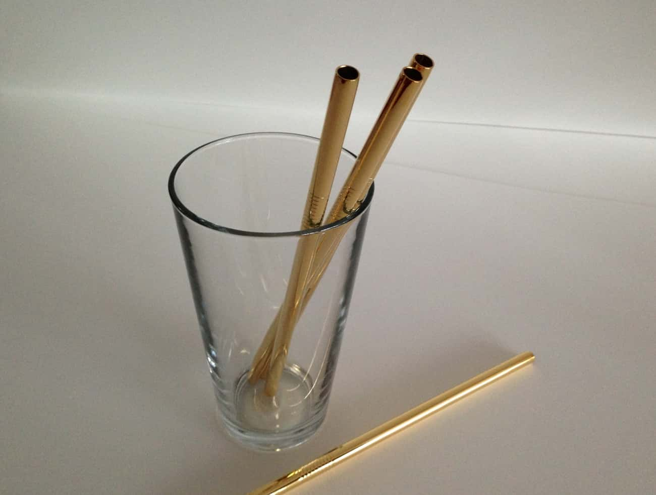 24K Gold Straws is listed (or ranked) 3 on the list 24 Everyday Things You Can Buy Made Of Real Gold