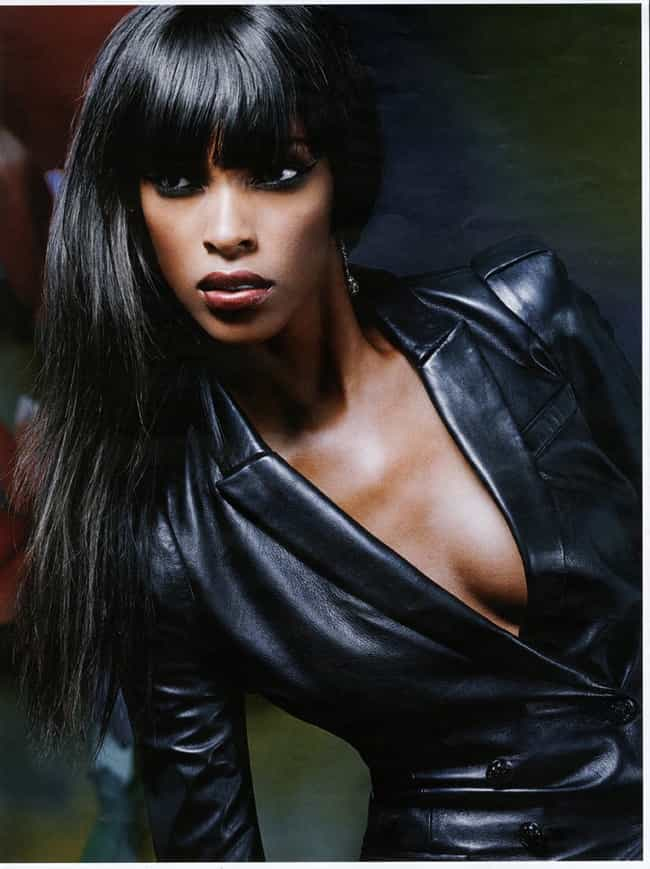 Quiana Grant in a Black Leathe... is listed (or ranked) 4 on the list Hottest Quiana Grant Photos