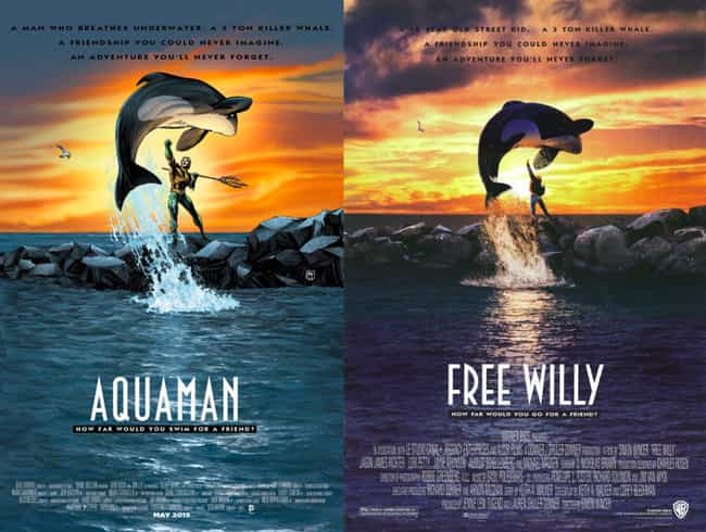 Aquaman #40 is listed (or ranked) 4 on the list The Best Movie Poster Inspired DC Comics Variant Covers