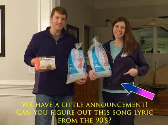 30 Incredibly Awkward Pregnancy Announcements - Cool Dump