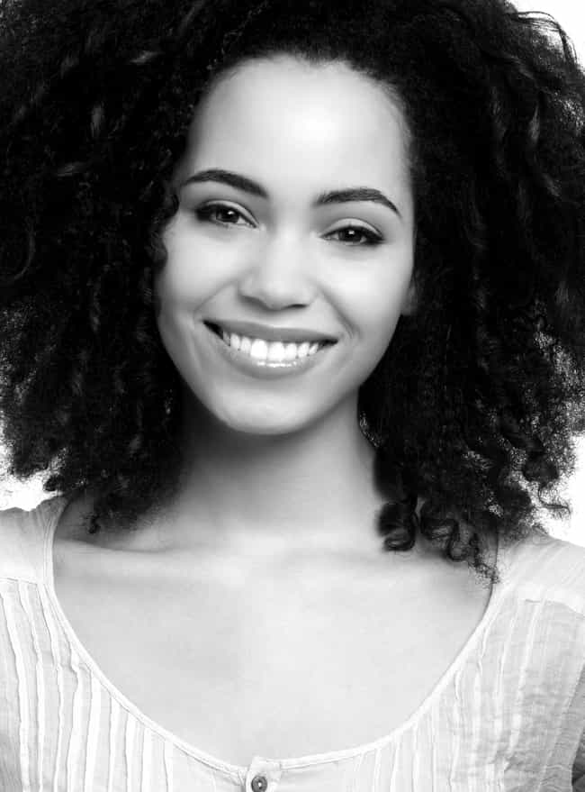 Black and White Close Up Shot ... is listed (or ranked) 3 on the list The Most Stunning Madeleine Mantock Photos
