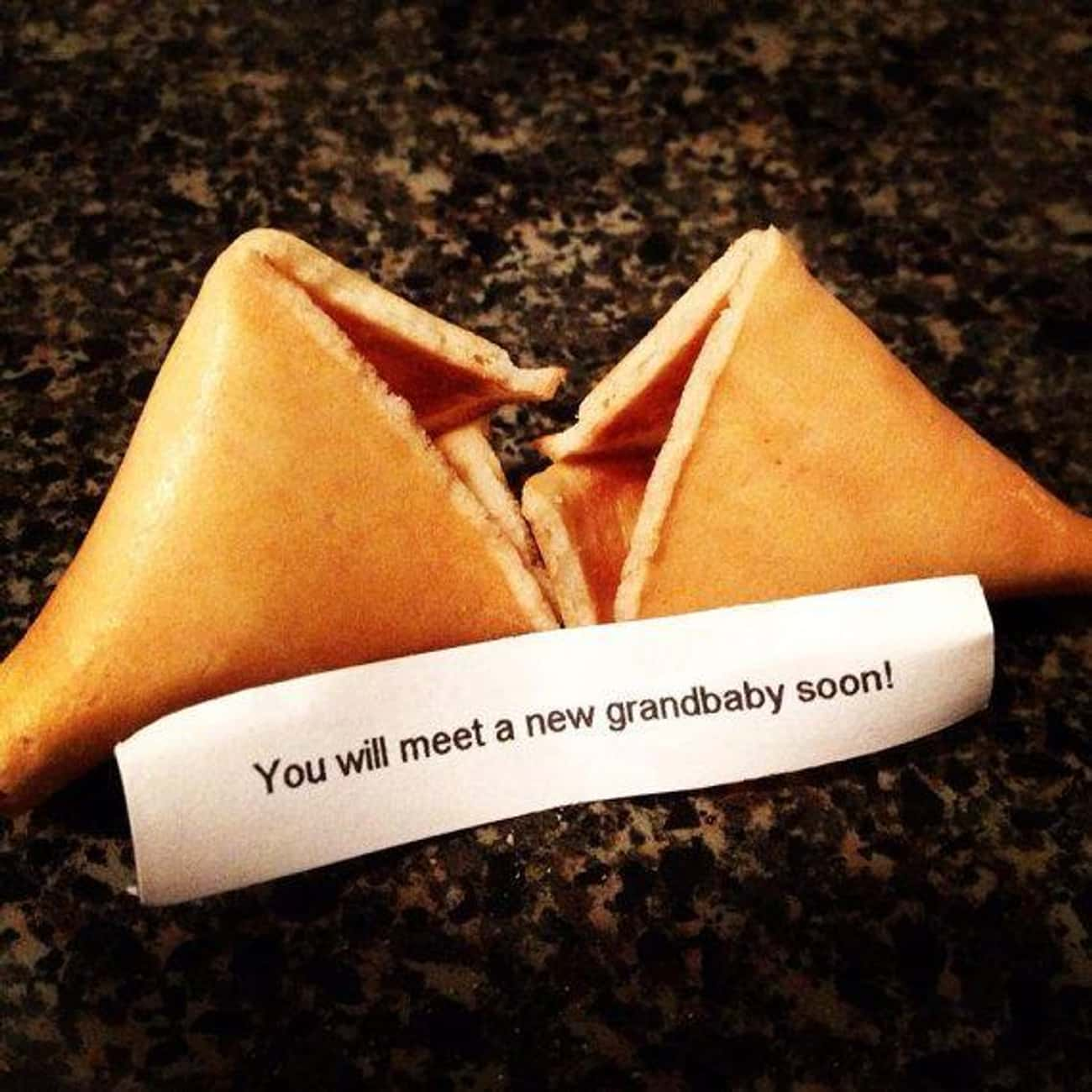 How's This For Good Fortune? is listed (or ranked) 2 on the list 14 Creative Pregnancy Announcements