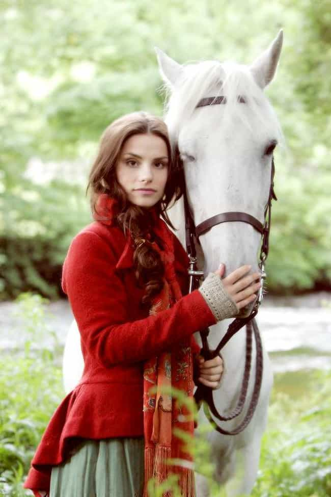Charlotte Riley with a Horse is listed (or ranked) 8 on the list The Most Stunning Charlotte Riley Photos