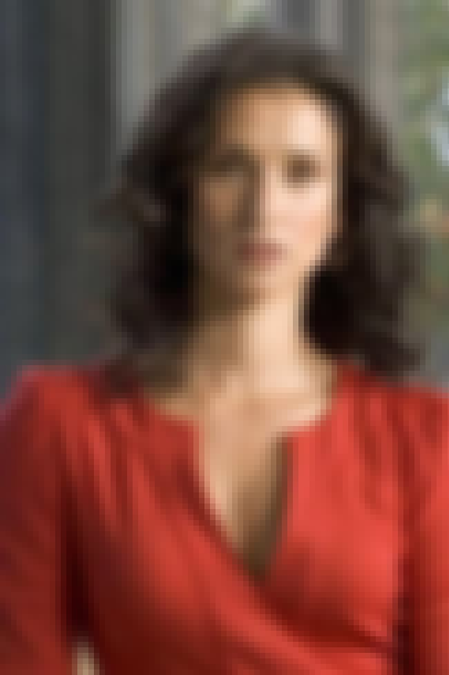 Indira Varma Wearing a Red V-N... is listed (or ranked) 4 on the list Hottest Indira Varma Photos