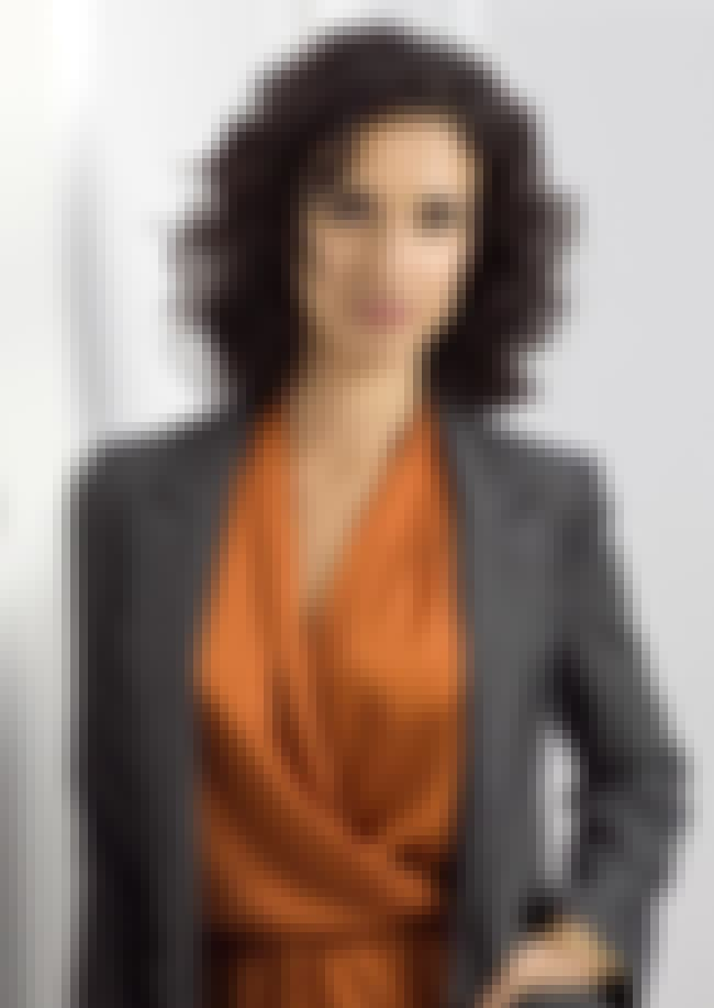 Indira Varma in an Orange Dres... is listed (or ranked) 2 on the list Hottest Indira Varma Photos
