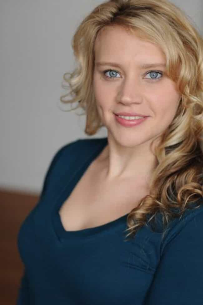 Kate McKinnon in a Blue Sweate... is listed (or ranked) 1 on the list The Most Stunning Kate McKinnon Photos