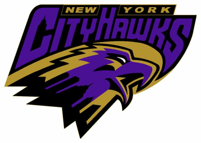 New York CityHawks is listed (or ranked) 3 on the list The 24 Worst Arena Football League Team Names