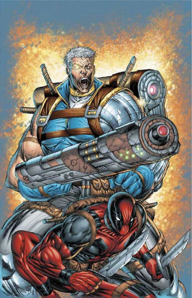 Cable and Deadpool is listed (or ranked) 3 on the list The Best Team-Ups in Comics