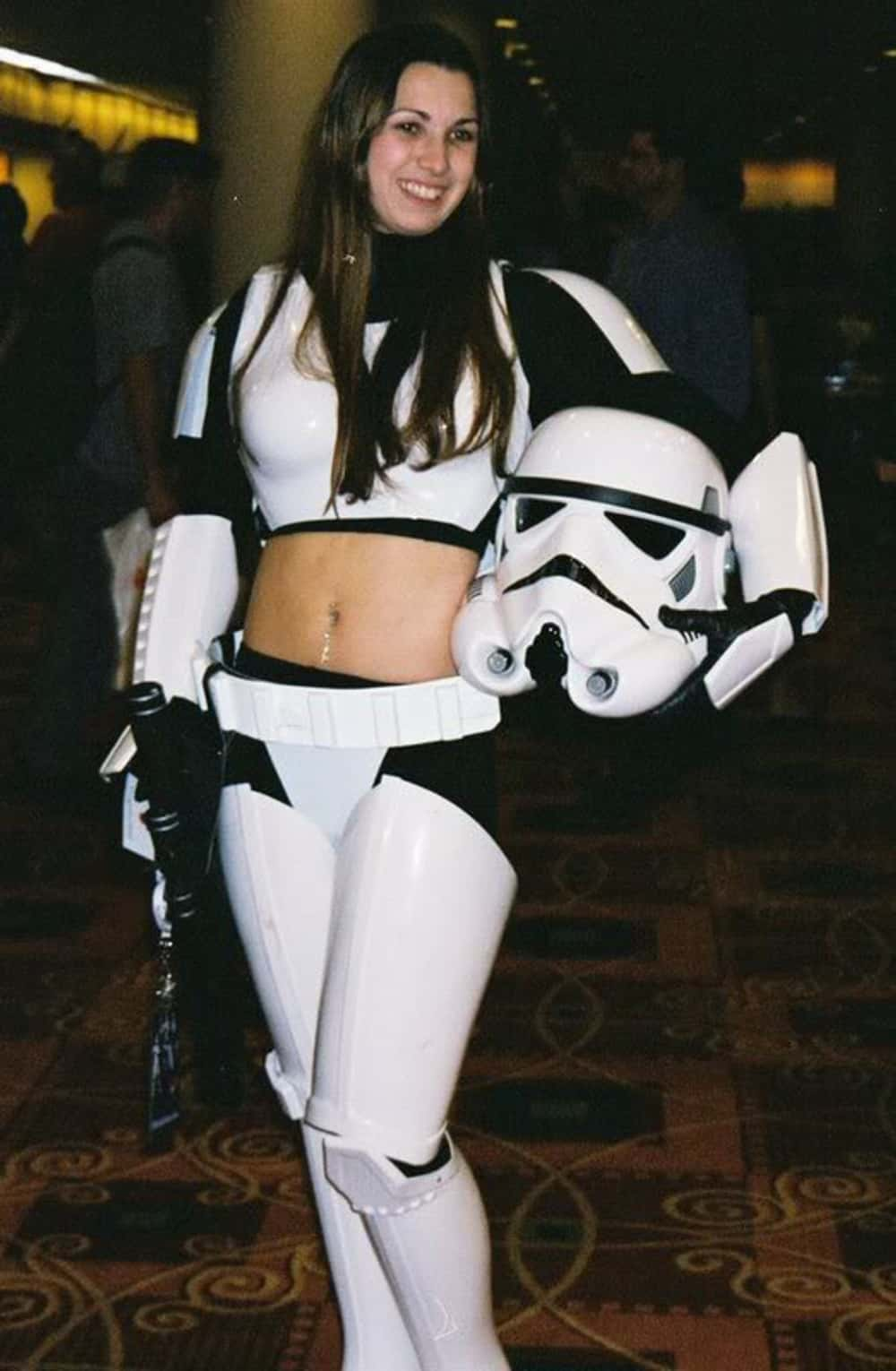 Her Midriff Might Be Vulnerabl... is listed (or ranked) 1 on the list Star Wars Fan Costumes Gone Seriously Wrong