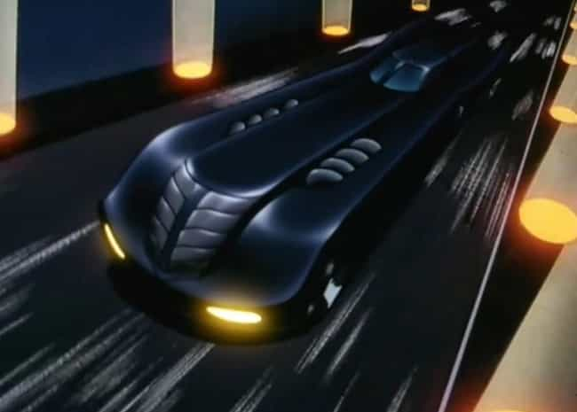 Batman: The Animated Series is listed (or ranked) 2 on the list The Best Batmobiles of All Time