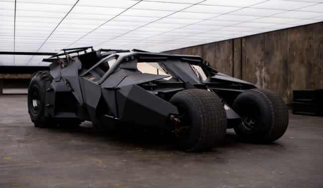 The Tumbler is listed (or ranked) 3 on the list The Best Batmobiles of All Time