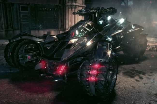 Arkham Video Game Batmob... is listed (or ranked) 6 on the list The Best Batmobiles of All Time