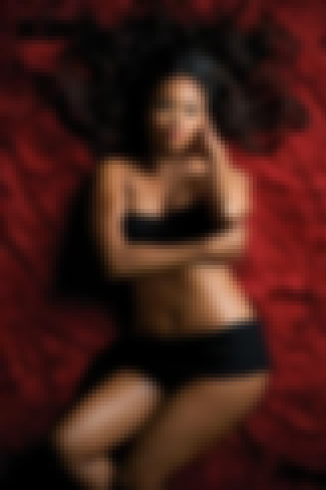 Sharon Leal on a Red Fur Blank... is listed (or ranked) 2 on the list Hottest Sharon Leal Photos